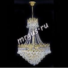 Бронза Мономах Корона 5 ламп Шар