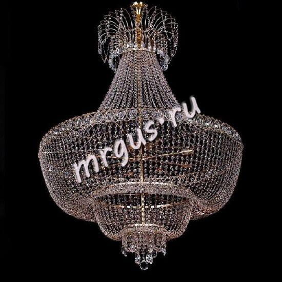 Потолочная хрустальная люстра Корона 5 ламп № 1