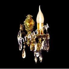 Хрустальная Бра бронзовые Бронза 1 лампа