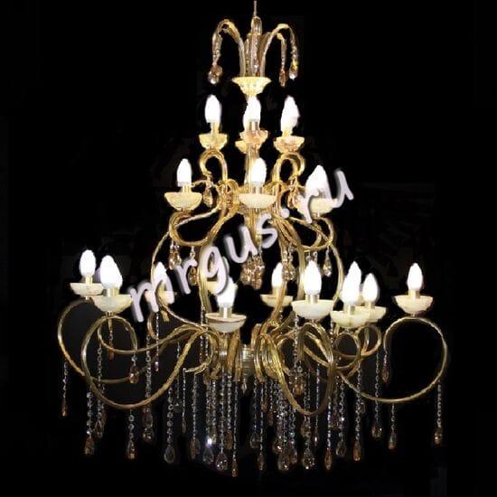 Бронза 24 лампы Оникс