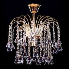 Каскад 1 лампа Пирамидка(30)- 0001