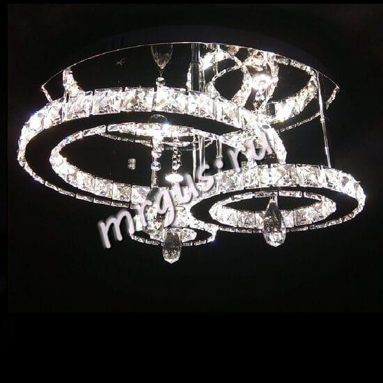 Светодиодная хрустальная люстра LED-0080