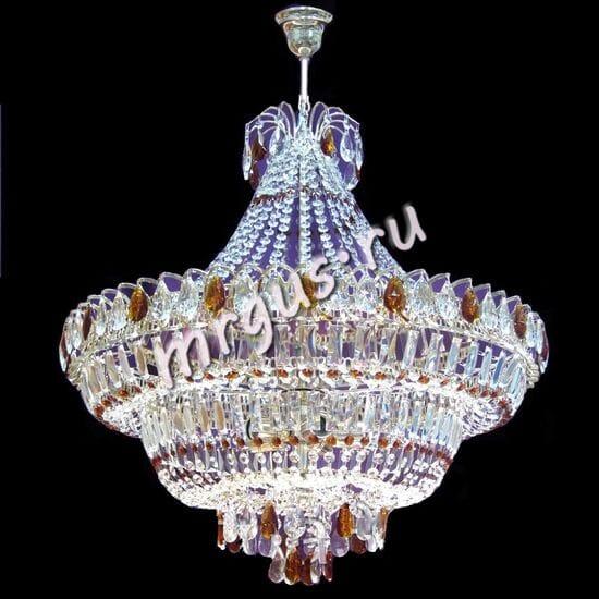 Водопад 5- 8 -11 ламп Цветной с подвесом
